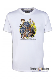 T-shirt WEEKEND OFFENDER THE FIRM Biały