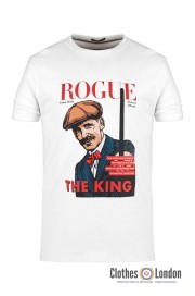 T-shirt WEEKEND OFFENDER ROGUE ARTHUR SHELBY Biała