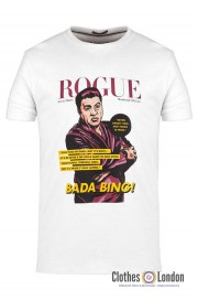 T-shirt WEEKEND OFFENDER ROGUE SILVIO Biała