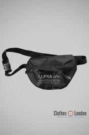 Torba na pasku (Nerka) Alpha Industries Logo Oliwkowa