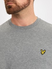 T-Shirt LYLE & SCOTT CREW NECK ciemnoszary
