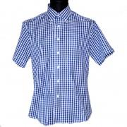 Koszula z krótkim rękawem WARRIOR BLUE STEADY niebieska