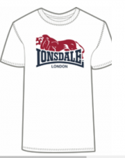 T-Shirt  LONSDALE LONDON BERRY HEAD biały