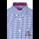 Koszula z krótkim rękawem Merc London Terry Biało Niebieska