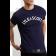 T-Shirt LYLE & SCOTT LOGO granatowa