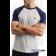 T-Shirt LYLE & SCOTT RAGLAN szara