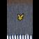 Wełniany szalki w paski LYLE & SCOTT Horizontal Szary