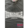 T-shirt LONSDALE LONDON GARGRAVE Szary