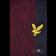 Wełniany szalki w paski LYLE & SCOTT WOOL Czerwono- Granatowy