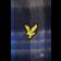 Wełniany szalki w paski LYLE & SCOTT WOOL Niebiesko-granatowy