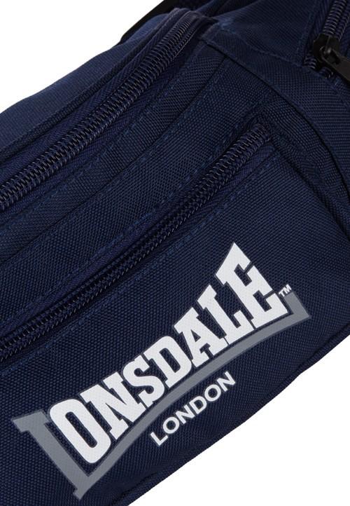 6247ad1081611 Torba na pasku (nerka) LONSDALE LONDON granatowa