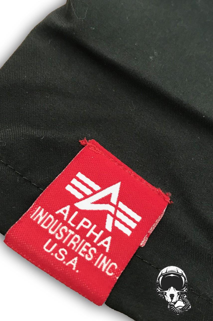 50616c23638334 Szorty do pływania ALPHA INDUSTRIES BASIC Swim Short czarne