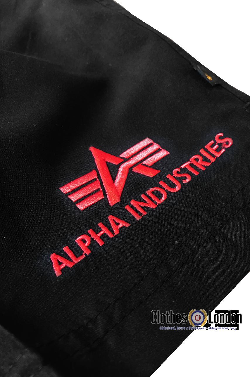 23e4c5ad1f03c6 Szorty do pływania Alpha Industries Sport Swim Short czarne