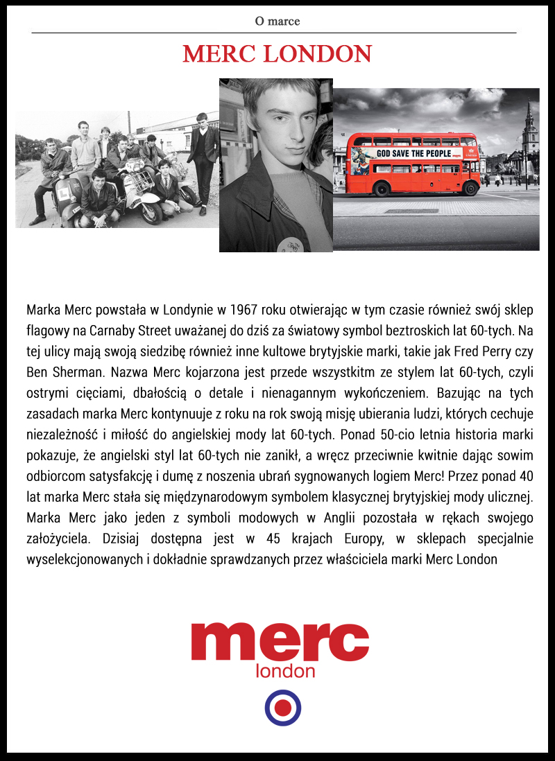 Historia MERC LONDON