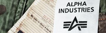Wszystkie produkty Alpha Industries w sklepie- kurtki, szorty i inne
