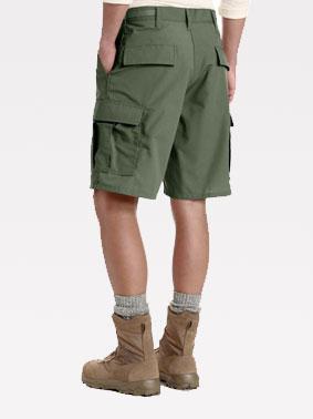 Krótkie szorty bojówki typu BDU (Battle Dress Uniform)