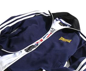 Śliskie bluzy typu TRACK TOP