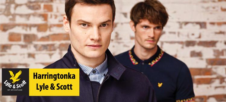 Harringtonka Lyle & Scott - tylko u nas w Polsce