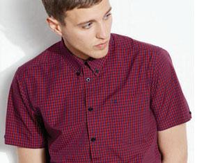 Koszule w kratkę z krótkim rękawem - Merc London, Brutus Trimfit, Lonsdale, Lyle & Scott