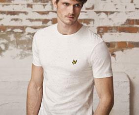 Spory wybór koszulek angielskich producentów m.in. Lyle & Scott, Merc London, Lonsdale
