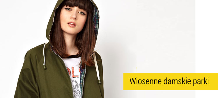 Wiosenne damskie parki Pop Boutique
