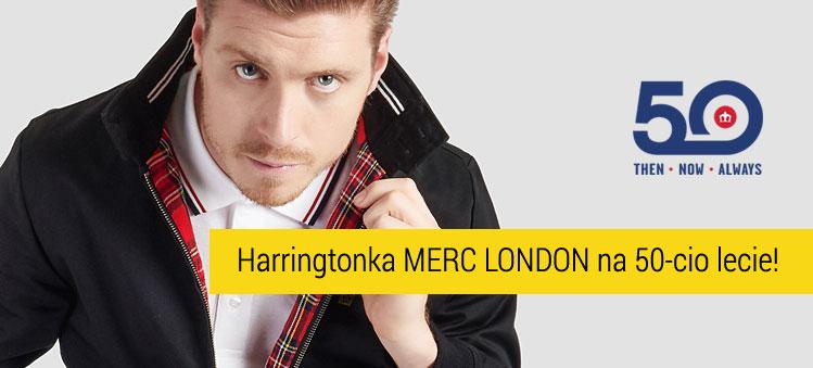 Limitowana Harringtonka Merc London z okzji 50-lecia istnienia firmy