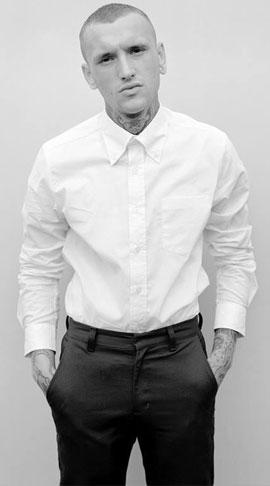 Białe koszule z długim i krótkim rękawem